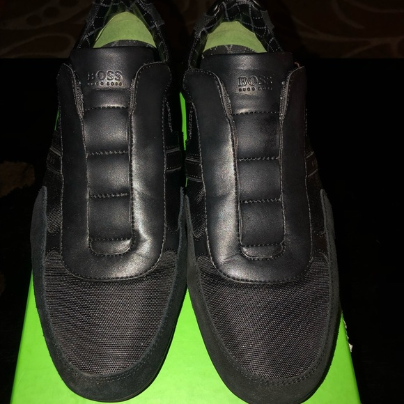hugo boss trainers no laces